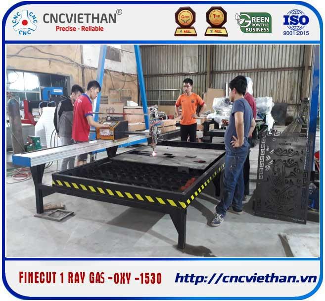 Máy cắt 1 ray gas - oxy 1530