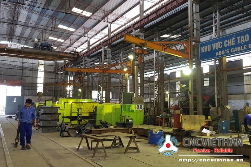 Xưởng sản xuất máy CNC hàng đầu Việt Nam | CNC Việt Hàn