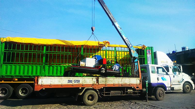 Đóng gói và vận chuyển tại CNC Việt Hàn