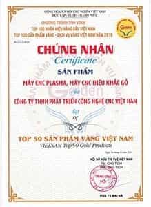 Top 50 dịch vụ vàng Việt Nam