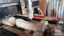 máy đục tượng, trụ cột đình