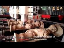 Embedded thumbnail for Máy điêu khắc tượng 4 trục | Điêu khắc chân Tân Cổ Điển