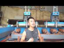 """Embedded thumbnail for Máy đục tượng gỗ """"SIÊU KHỦNG"""" của khách Ba tại làng nghề Đông Giao - Hải Dương"""