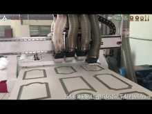 Embedded thumbnail for Máy CNC gia công gỗ công nghiệp 04 đầu độc lập - FEIKE tại Quốc Oai - Hà Nội