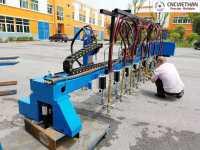 Máy cắt CNC pha băng Heavy Gantry