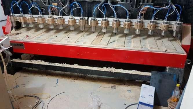 máy đục gỗ 16 đầu