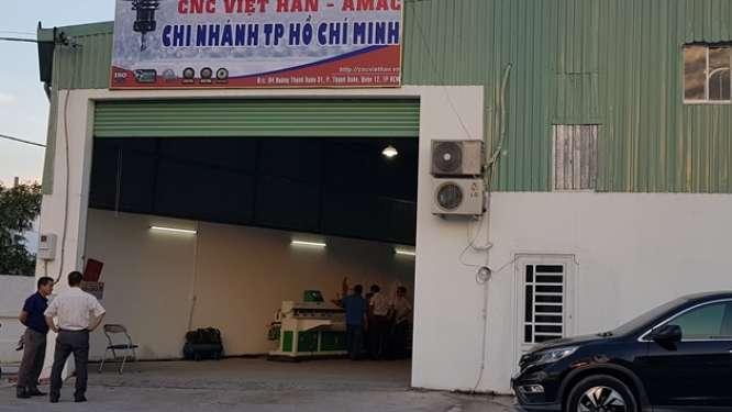 Chi nhánh CNC Việt Hàn tại TPHCM