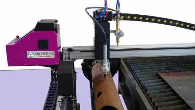 Máy cắt thép tấm kết hợp cắt ống FINECUT