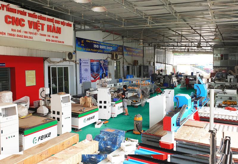 CNC Việt Hàn | Máy đục gỗ hàng đầu Việt Nam