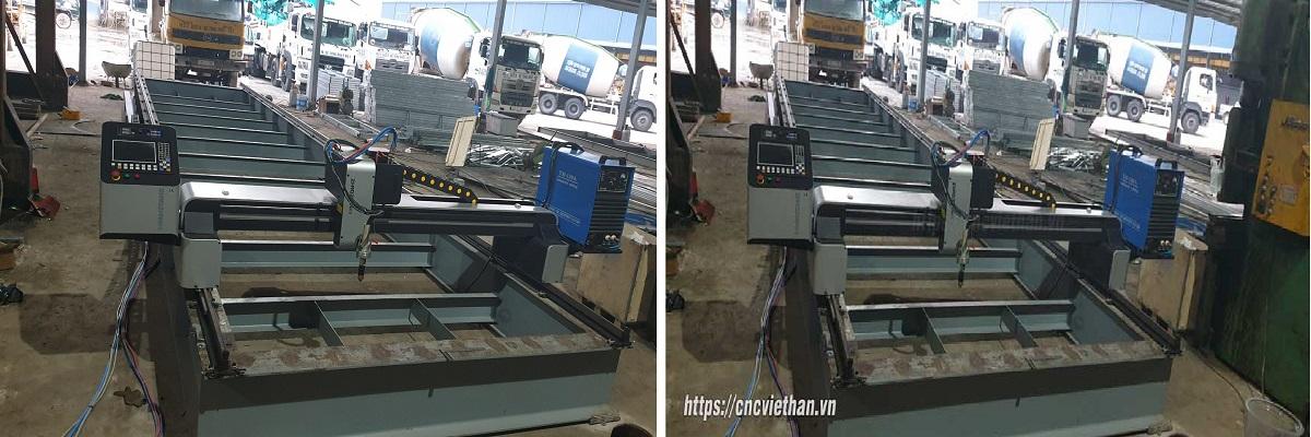 Máy cắt Plasma CNC Giao tại Tiền Giang