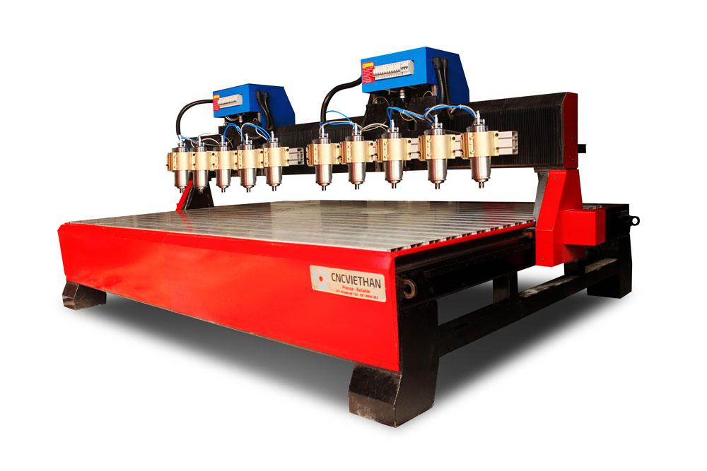 máy đục gỗ 10 đầu